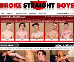 Welcome to Broke Straight Boys - free hardcore gay video samples of our hot straight guys!