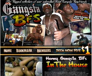 Welcome to Gansta BFs - horny gansta boyfriends suck and fuck in the house!