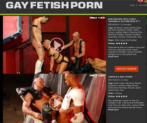 Welcome to Gay Fetish Porn