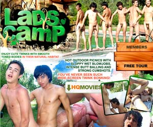 Welcome to Lads Camp - playful young boys have a wild fun out-of-doors!