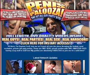 Welcome to Penis Palooza - gay orgy porn!