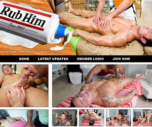Welcome to Rub Him - horny gays fuck and jizz in gay porn!