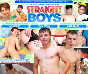 Welcome to Straight Boys - extremely cute straight boys in gay movies and pics!
