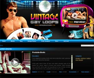 Welcome to Vintage Gay Loops - complete collection of gay vintage scenes!